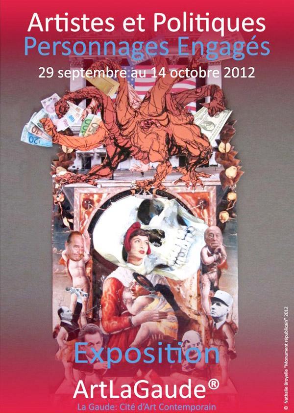 La Gaude : Artistes et politiques