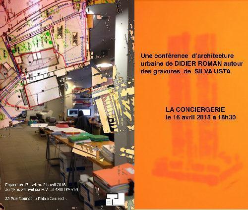Nice : Conférence architecture silva Usta