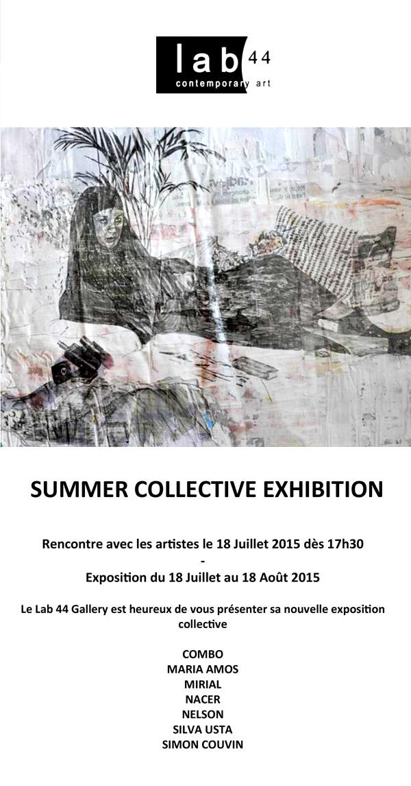 Paris : Lab 44 Summer Collective Exhibition