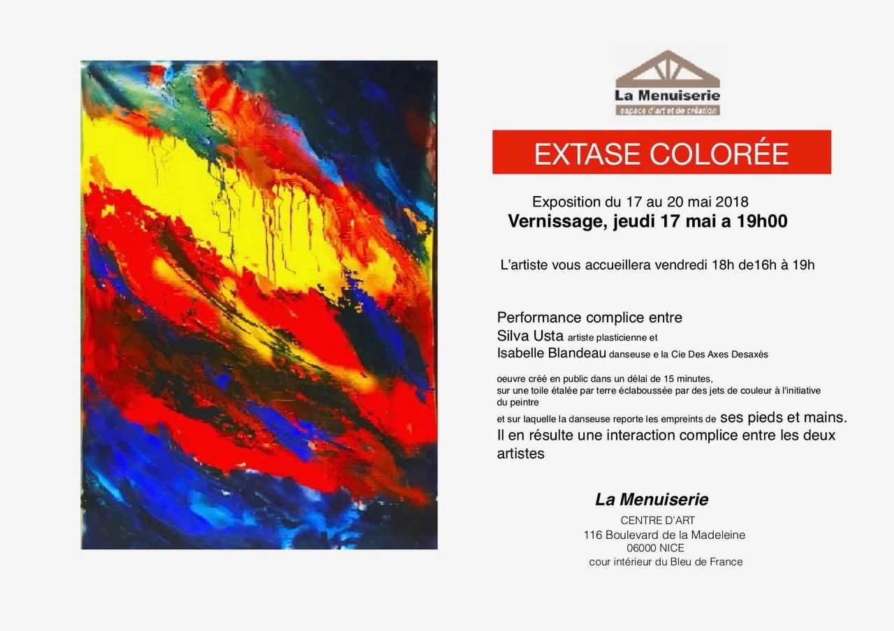 Extase Colorée - Exposition - Silva Usta - La Menuiserie
