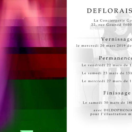 Défloraison - Conciergerie Gounod - Florence Borja - Marc Lapolla