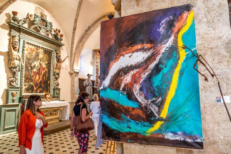 Biennale Saint Paul 2018 - Peinture Silva Usta