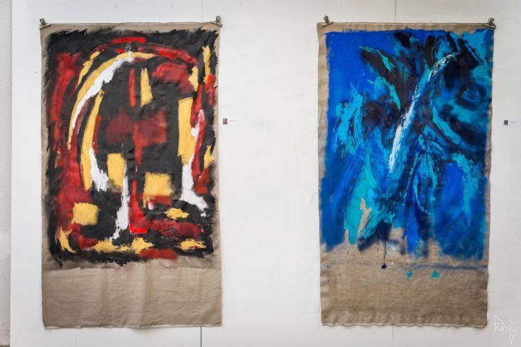 Extase Colorée - La Menuiserie - Peintures de Silva Usta (1)