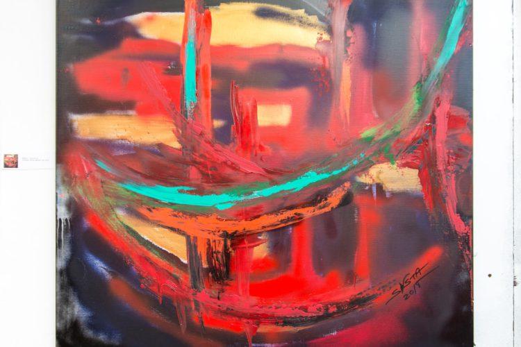 Extase Colorée - La Menuiserie - Peintures de Silva Usta (16)