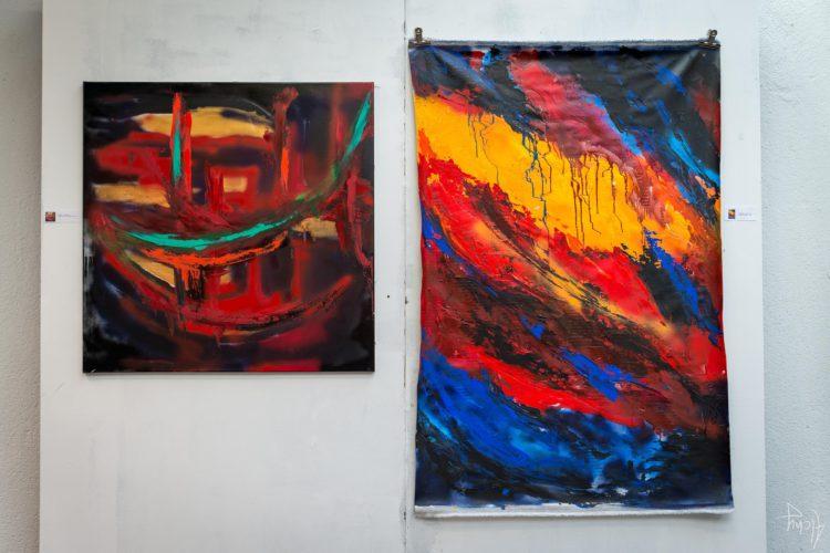 Extase Colorée - La Menuiserie - Peintures de Silva Usta (2)