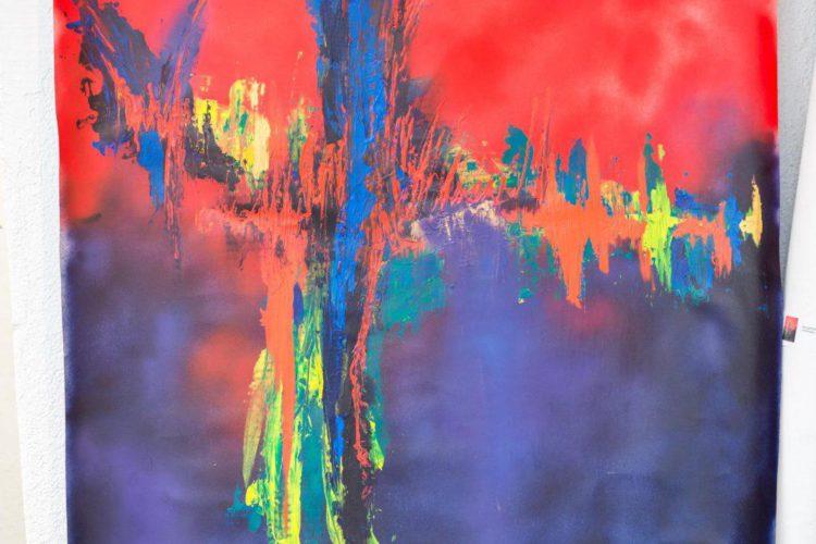 Extase Colorée - La Menuiserie - Peintures de Silva Usta (6)