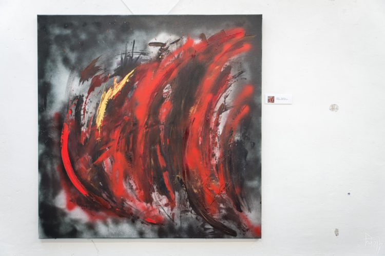 Extase Colorée - La Menuiserie - Peintures de Silva Usta (9)