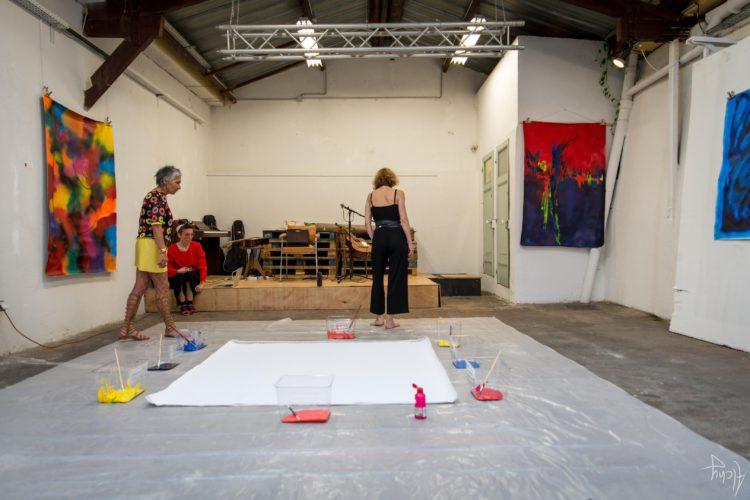 Extase Colorée - La Menuiserie - Performance de Silva Usta et Isabelle Blondeau (38)
