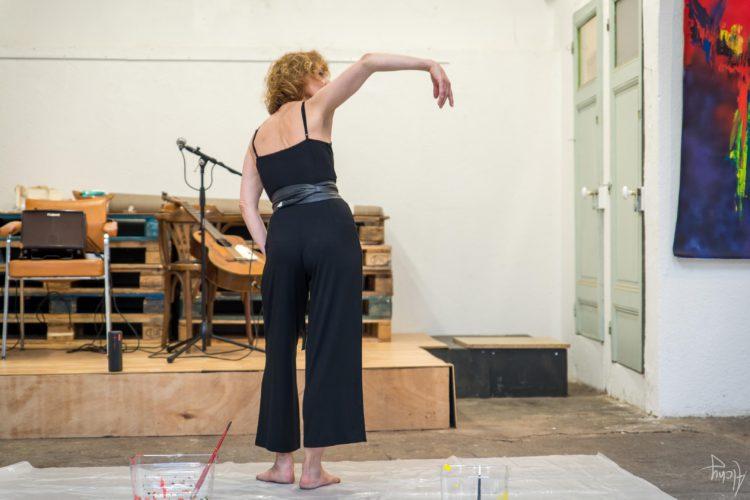 Extase Colorée - La Menuiserie - Performance de Silva Usta et Isabelle Blondeau (39)