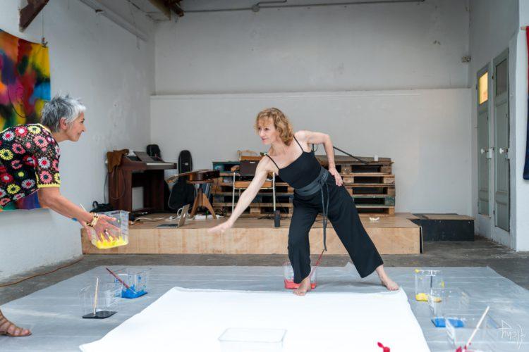 Extase Colorée - La Menuiserie - Performance de Silva Usta et Isabelle Blondeau (43)