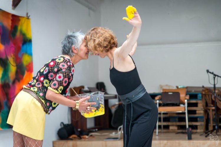 Extase Colorée - La Menuiserie - Performance de Silva Usta et Isabelle Blondeau (45)