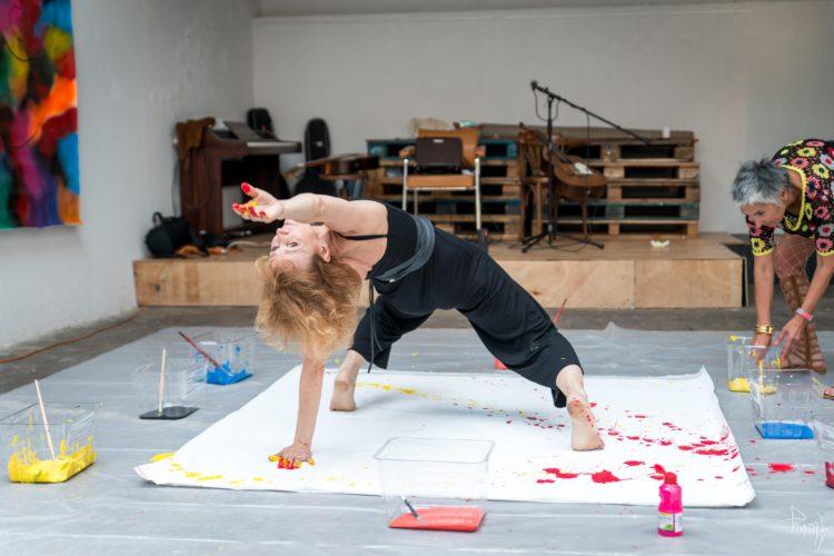 Extase Colorée - La Menuiserie - Performance de Silva Usta et Isabelle Blondeau (46)