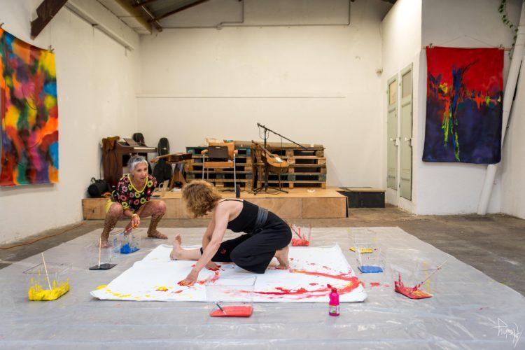 Extase Colorée - La Menuiserie - Performance de Silva Usta et Isabelle Blondeau (47)