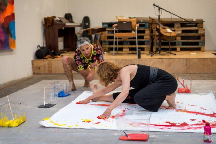 Extase Colorée - La Menuiserie - Performance de Silva Usta et Isabelle Blondeau (48)
