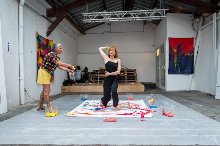 Extase Colorée - La Menuiserie - Performance de Silva Usta et Isabelle Blondeau (50)