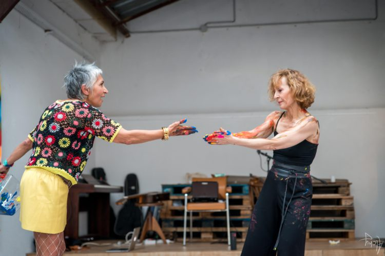 Extase Colorée - La Menuiserie - Performance de Silva Usta et Isabelle Blondeau (54)