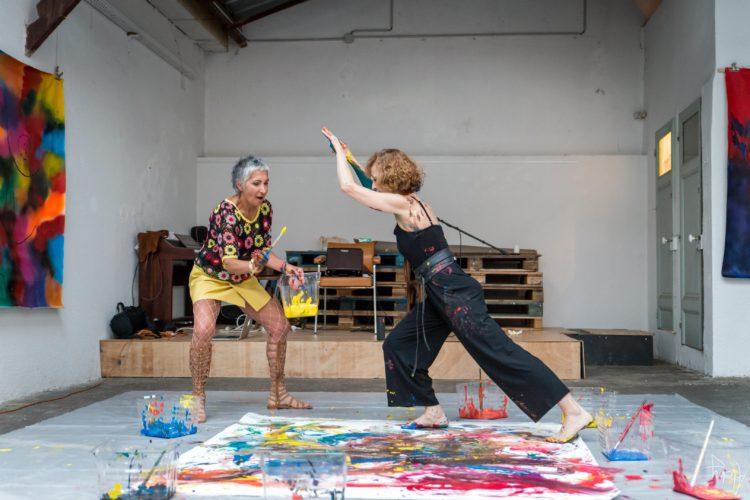 Extase Colorée - La Menuiserie - Performance de Silva Usta et Isabelle Blondeau (55)