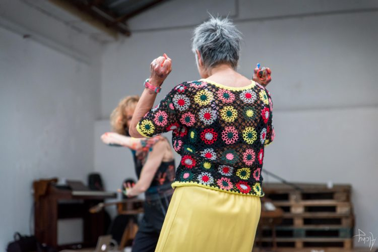 Extase Colorée - La Menuiserie - Performance de Silva Usta et Isabelle Blondeau (60)
