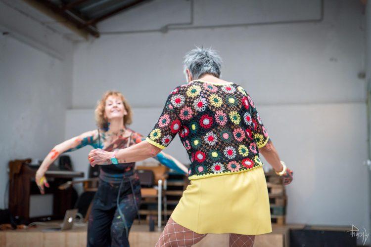 Extase Colorée - La Menuiserie - Performance de Silva Usta et Isabelle Blondeau (61)