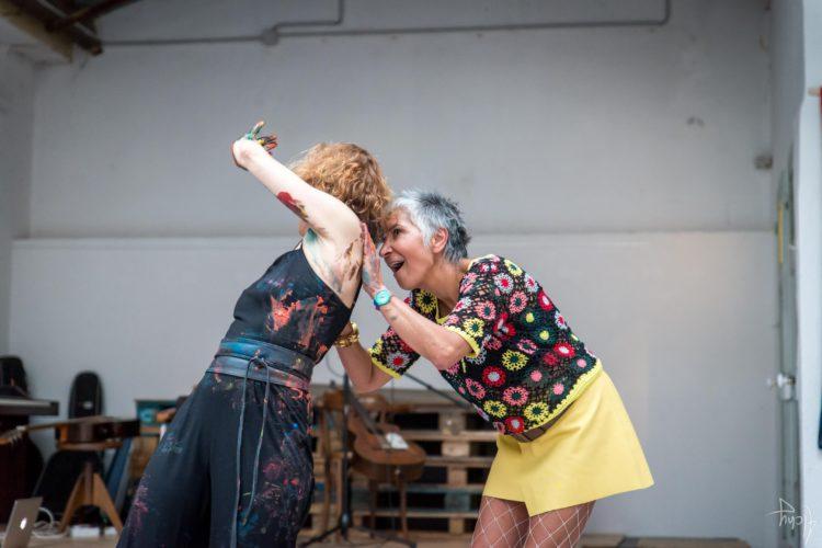 Extase Colorée - La Menuiserie - Performance de Silva Usta et Isabelle Blondeau (62)