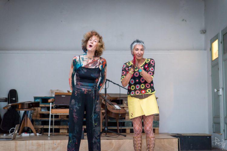 Extase Colorée - La Menuiserie - Performance de Silva Usta et Isabelle Blondeau (66)