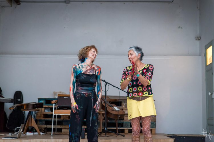 Extase Colorée - La Menuiserie - Performance de Silva Usta et Isabelle Blondeau (68)