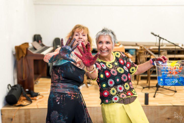 Extase Colorée - La Menuiserie - Performance de Silva Usta et Isabelle Blondeau (72)