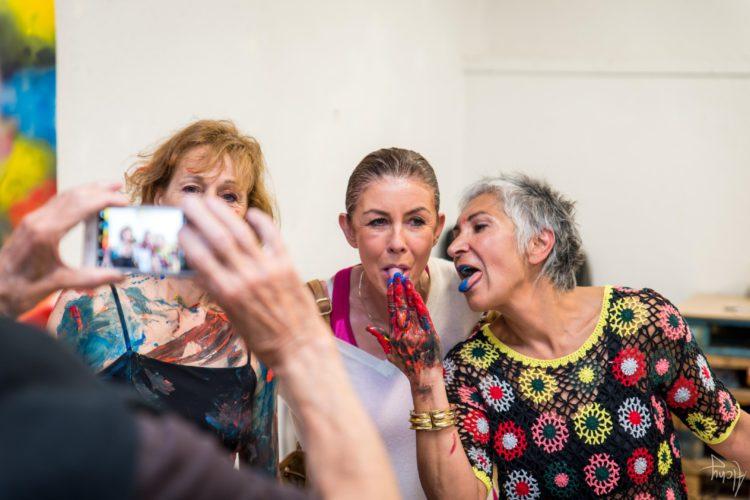 Extase Colorée - La Menuiserie - Performance de Silva Usta et Isabelle Blondeau (76)