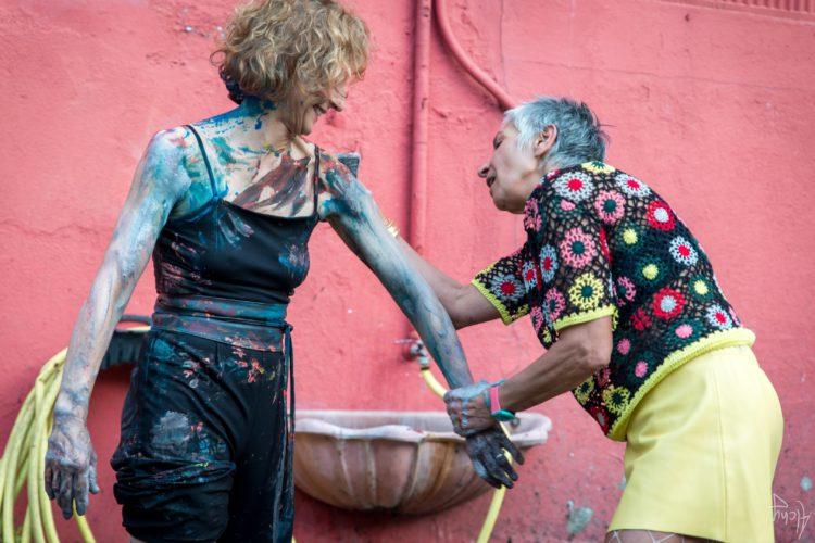 Extase Colorée - La Menuiserie - Performance de Silva Usta et Isabelle Blondeau (81)